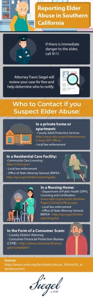 reporting elder abuse infographic